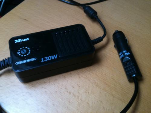 Trust 130W Multi Function Notebook Power Adapter