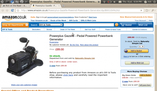 powerplus gazelle