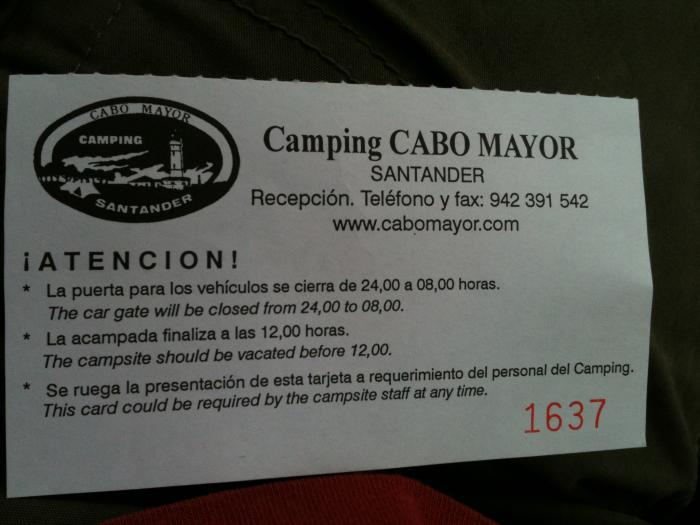 cabo mayor ticket