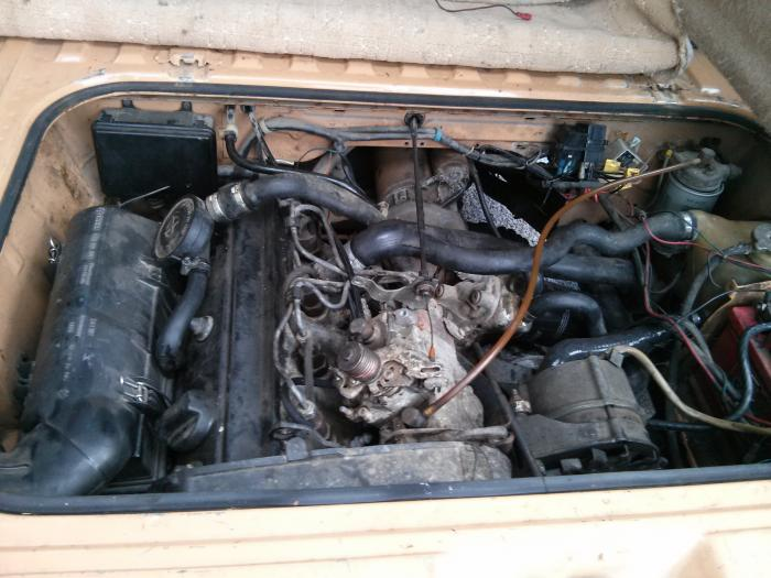 vw T25 with 1.9 diesel 1Y engine fitted