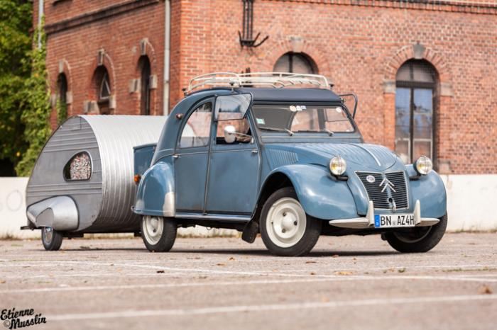 2cv towing teardrop