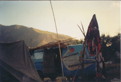van life in el morreon 1997