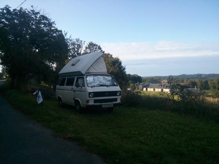 Pitched up in Sarran