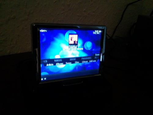 raspbmc displaying on small lcd monitor