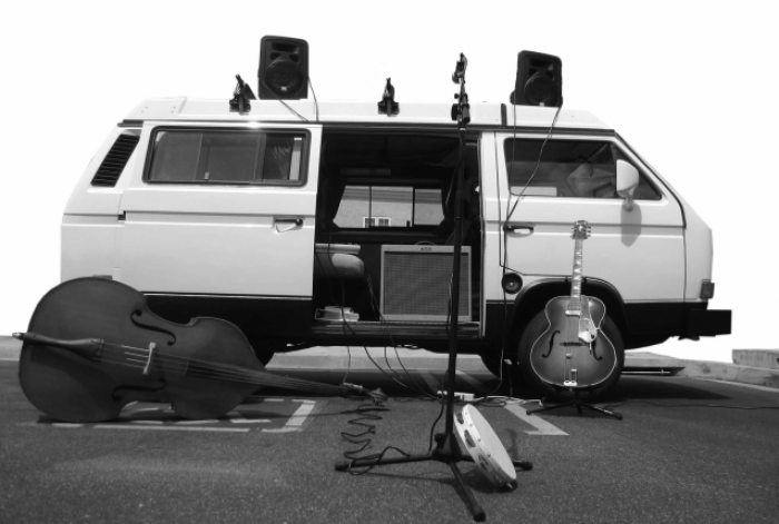 VW T25 (T3, Vanagon) mobile stage