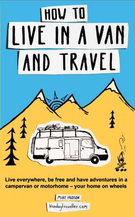 How to live in a van and travel book