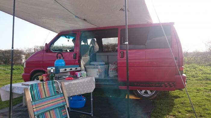 New (To Us) VW T4 campervan