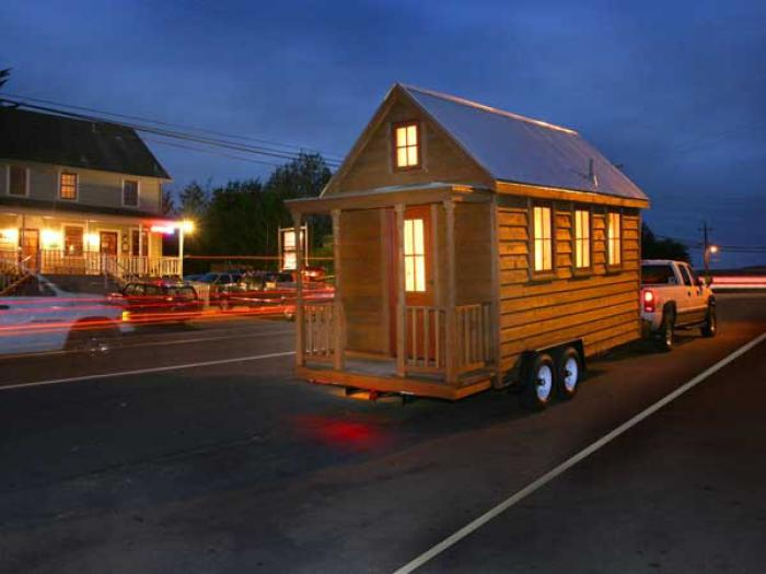 tiny home trailer