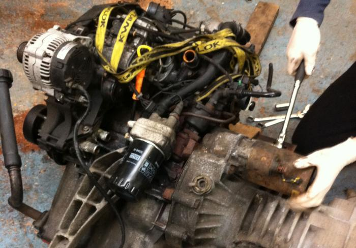 1z engine and t3 gearbox