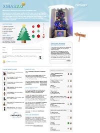 xmas 2.0 site by netsight